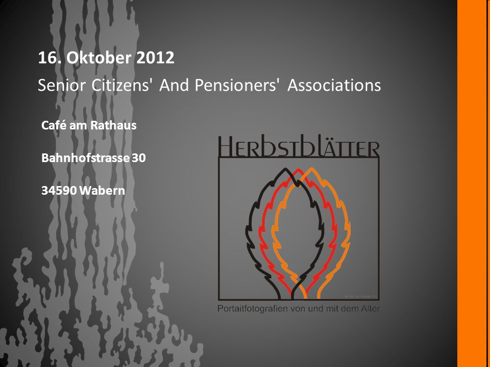 Senior Citizens And Pensioners Associations