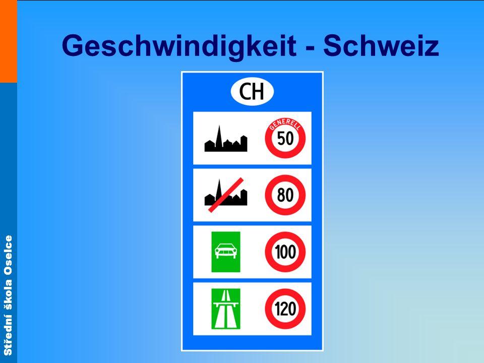 Geschwindigkeit - Schweiz