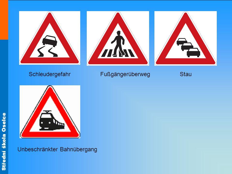 Schleudergefahr Fußgängerüberweg Stau