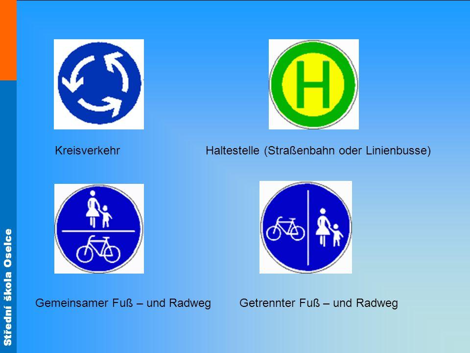 Kreisverkehr Haltestelle (Straßenbahn oder Linienbusse)