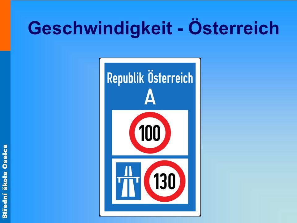 Geschwindigkeit - Österreich