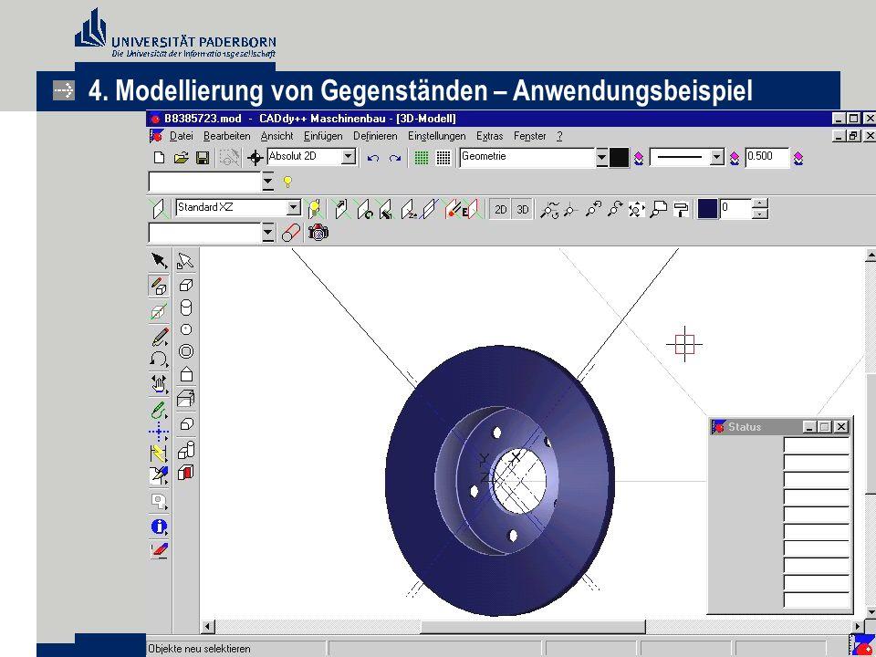 4. Modellierung von Gegenständen – Anwendungsbeispiel