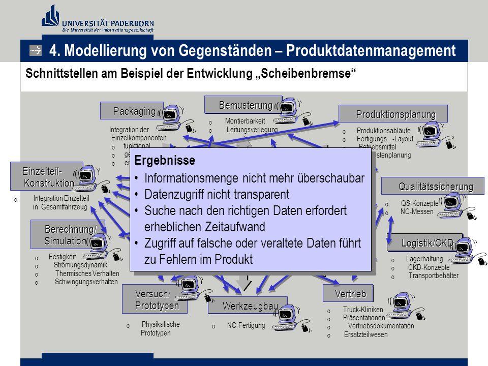 4. Modellierung von Gegenständen – Produktdatenmanagement