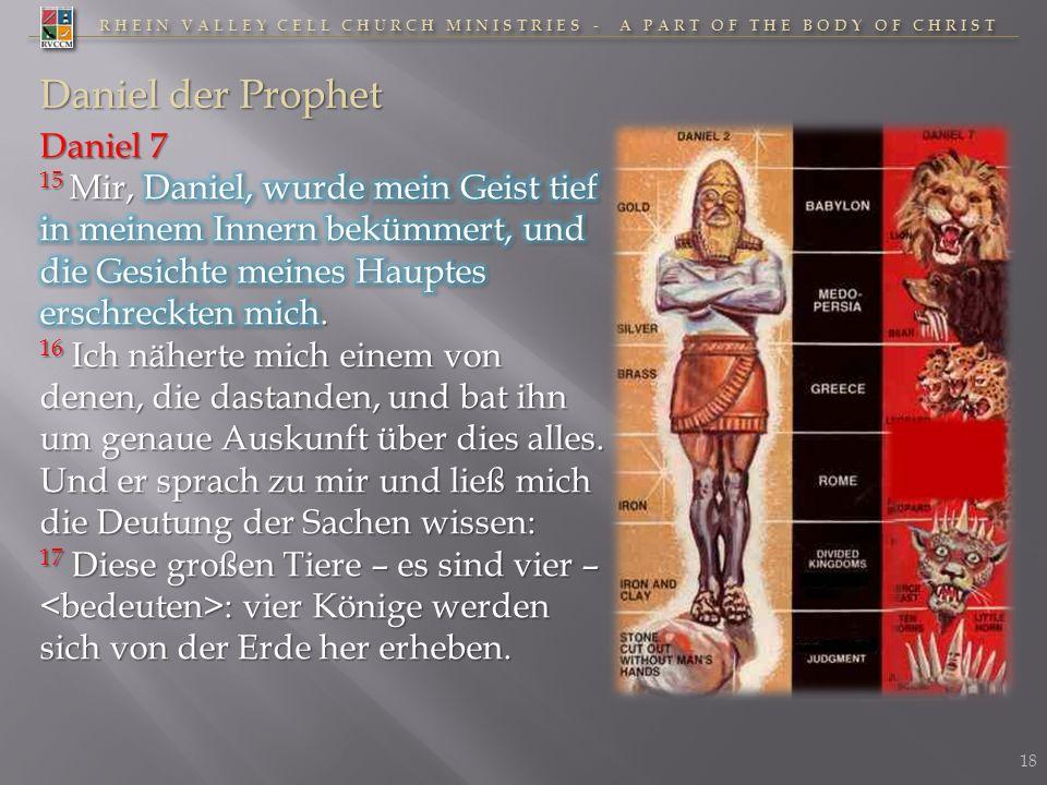 Daniel der Prophet Daniel 7