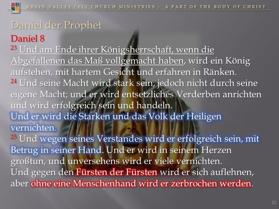 Daniel der Prophet Daniel 8