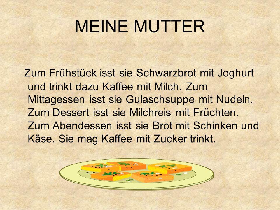 MEINE MUTTER