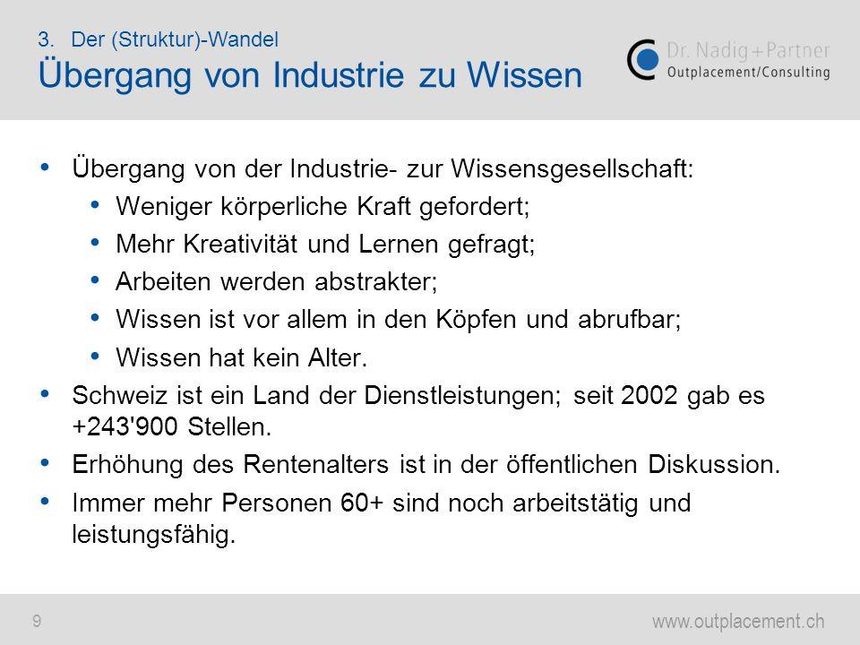 Übergang von Industrie zu Wissen