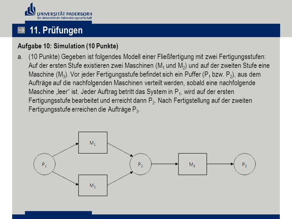 11. Prüfungen Aufgabe 10: Simulation (10 Punkte)