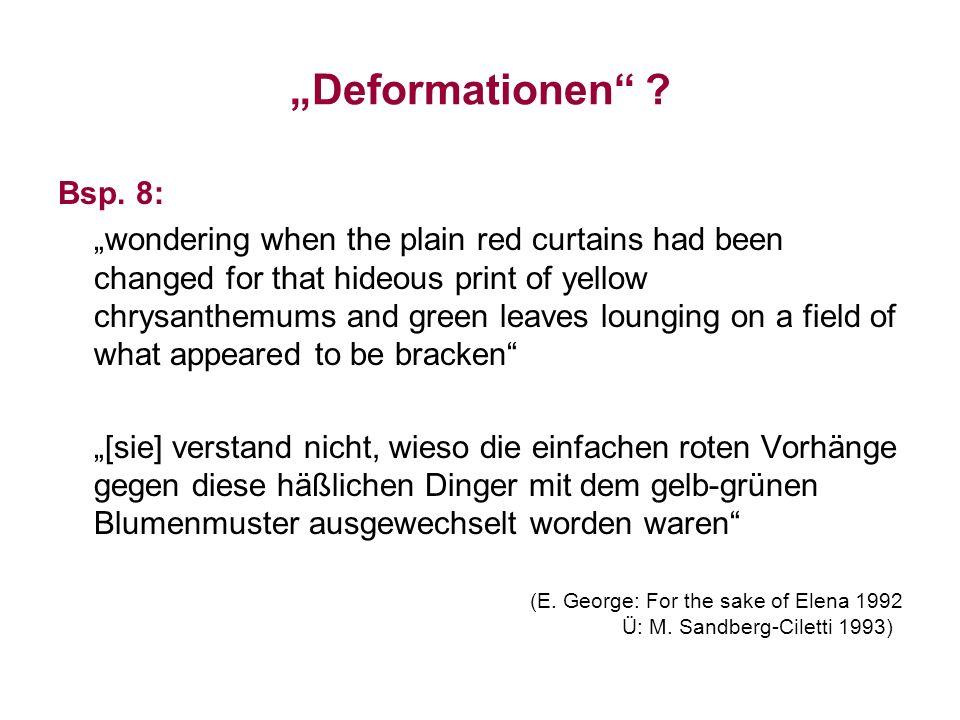 """""""Deformationen Bsp. 8:"""