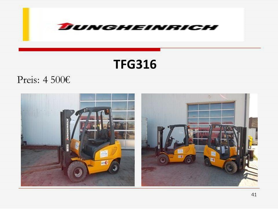 TFG316 Preis: 4 500€