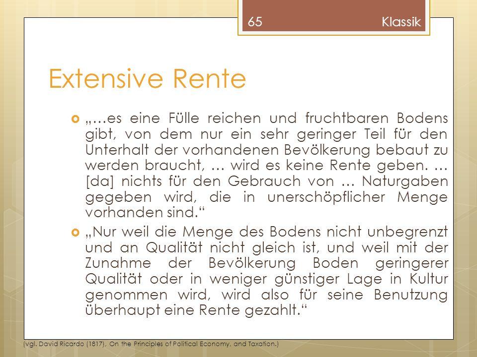 Klassik Extensive Rente.