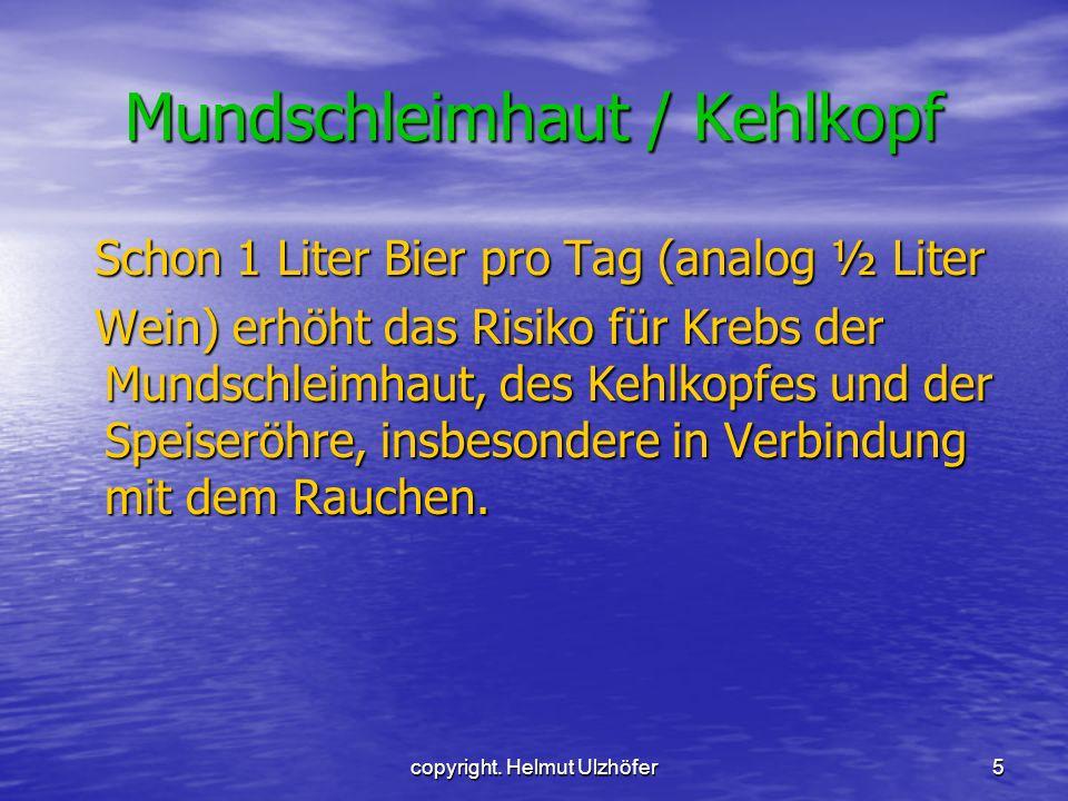 Mundschleimhaut / Kehlkopf