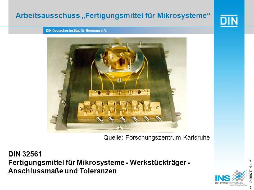 """Arbeitsausschuss """"Fertigungsmittel für Mikrosysteme"""