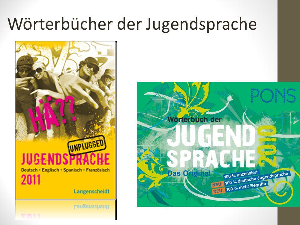 Wörterbücher der Jugendsprache