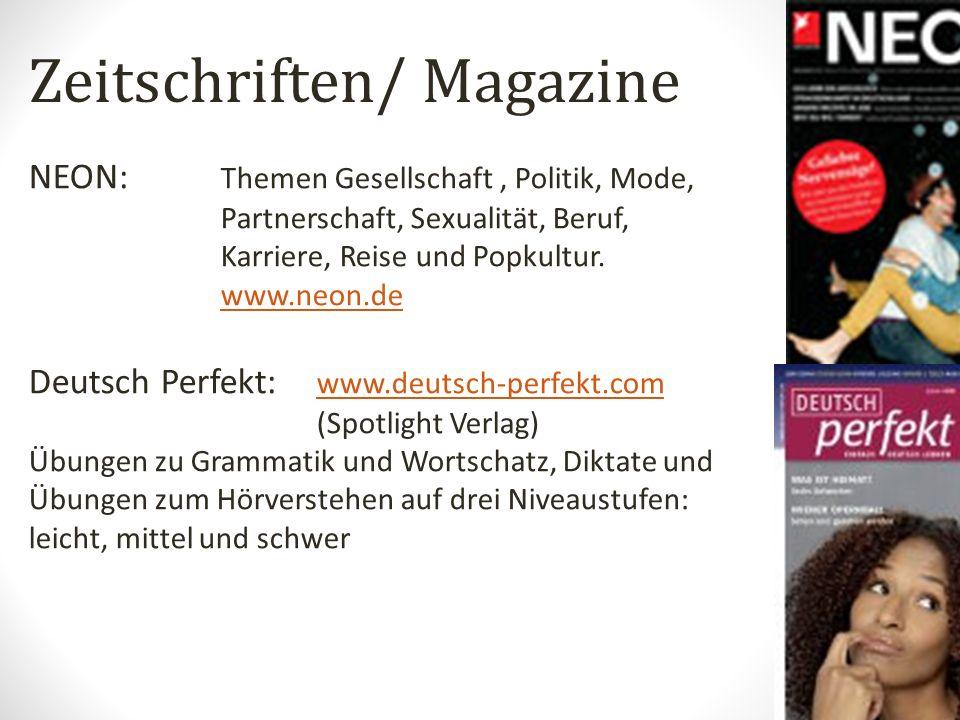 Zeitschriften/ Magazine