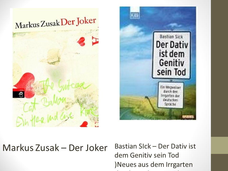 Markus Zusak – Der Joker