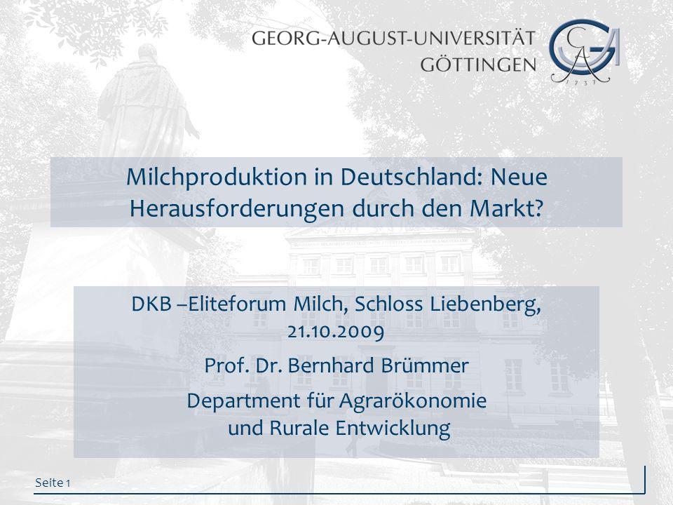 Milchproduktion in Deutschland: Neue Herausforderungen durch den Markt