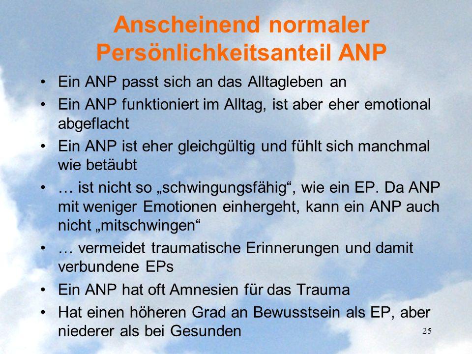 Anscheinend normaler Persönlichkeitsanteil ANP