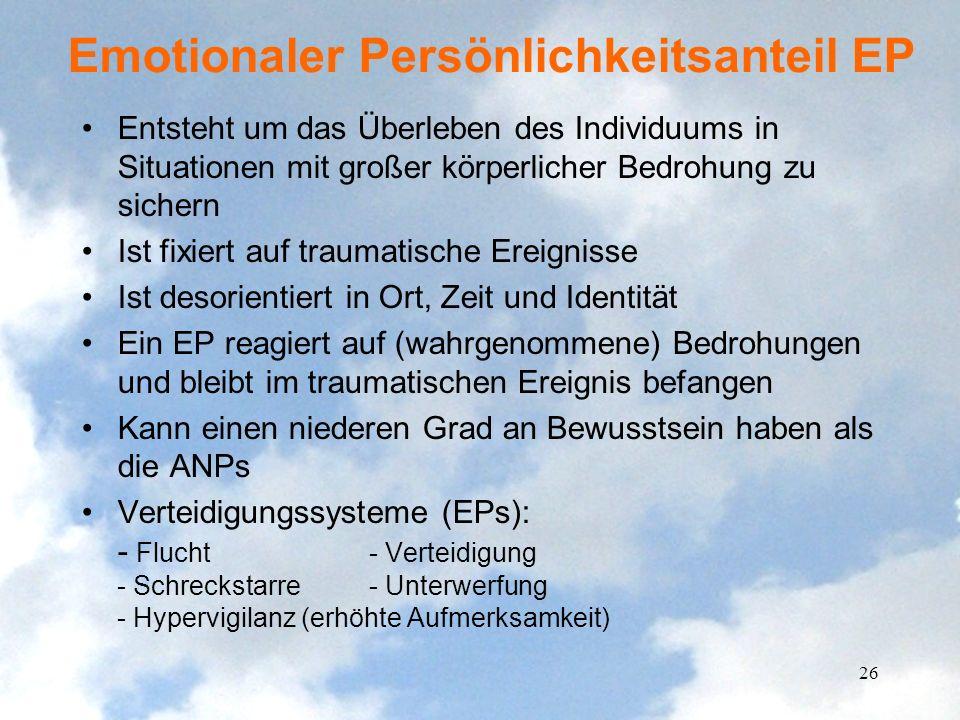 Emotionaler Persönlichkeitsanteil EP