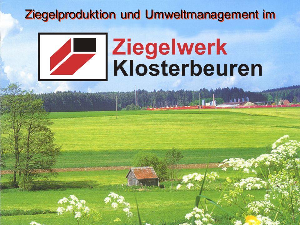 Ziegelproduktion und Umweltmanagement im