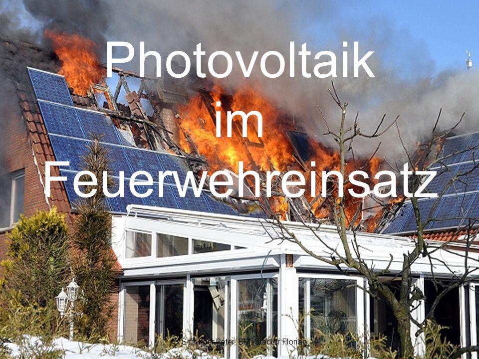 Photovoltaik im Feuerwehreinsatz