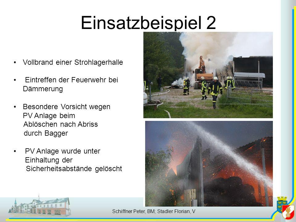 Schiffner Peter, BM; Stadler Florian, V