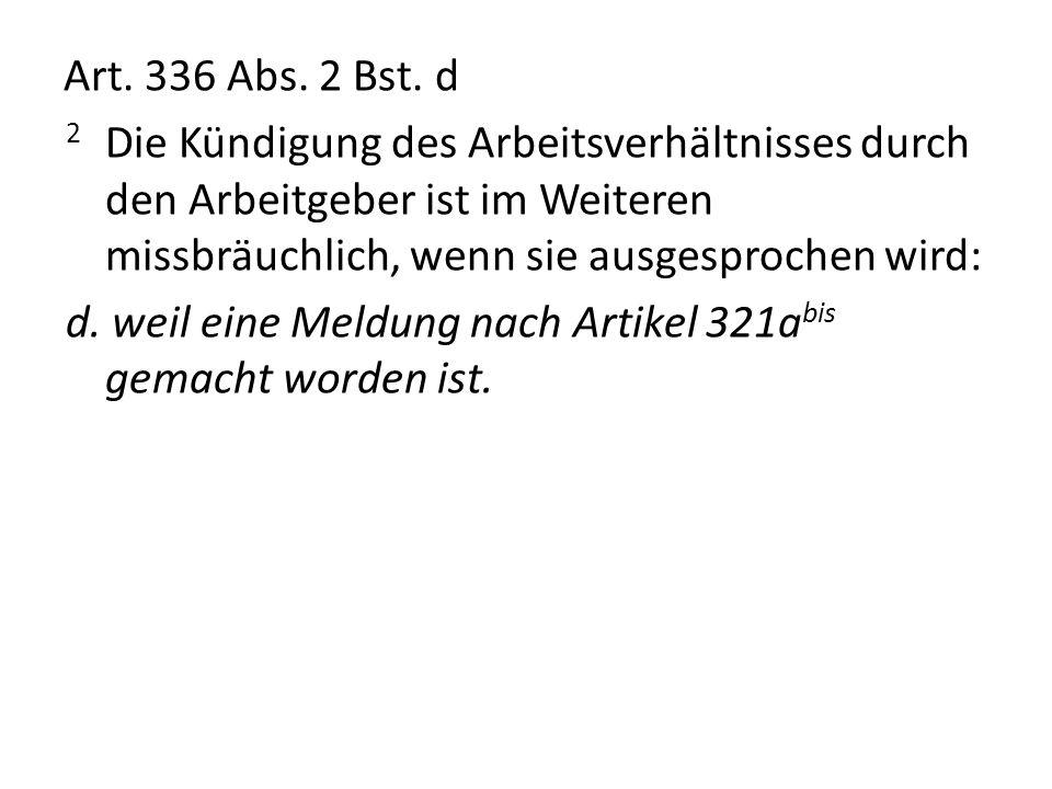 Art.336 Abs. 2 Bst.