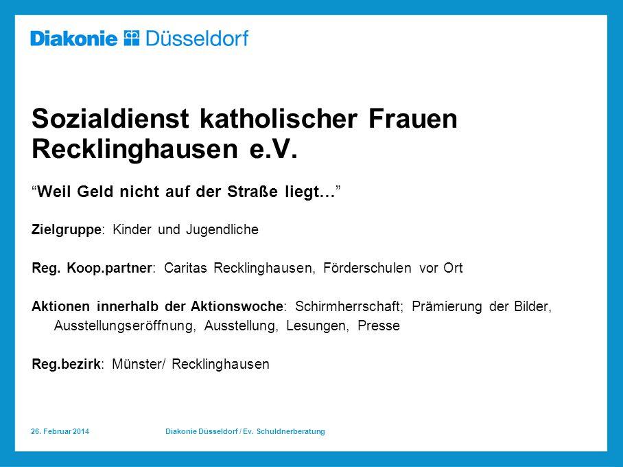Sozialdienst katholischer Frauen Recklinghausen e.V.