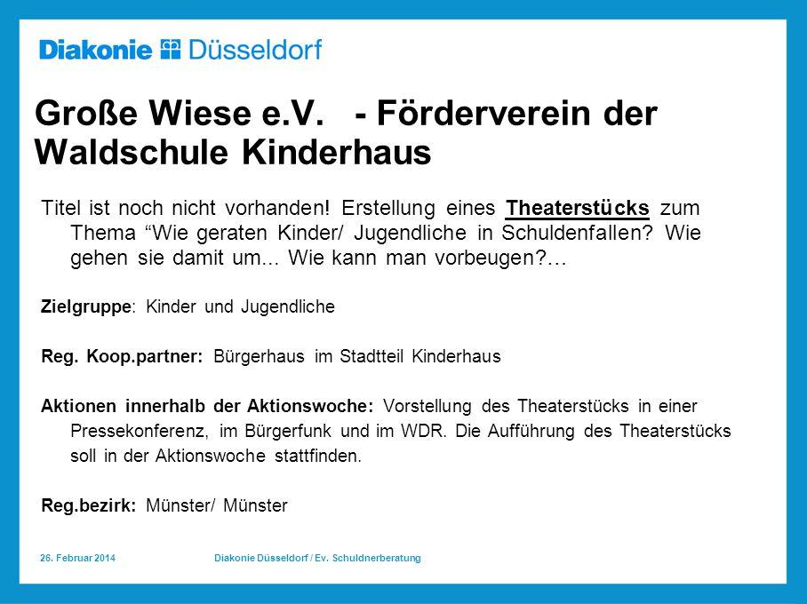 Große Wiese e.V. - Förderverein der Waldschule Kinderhaus