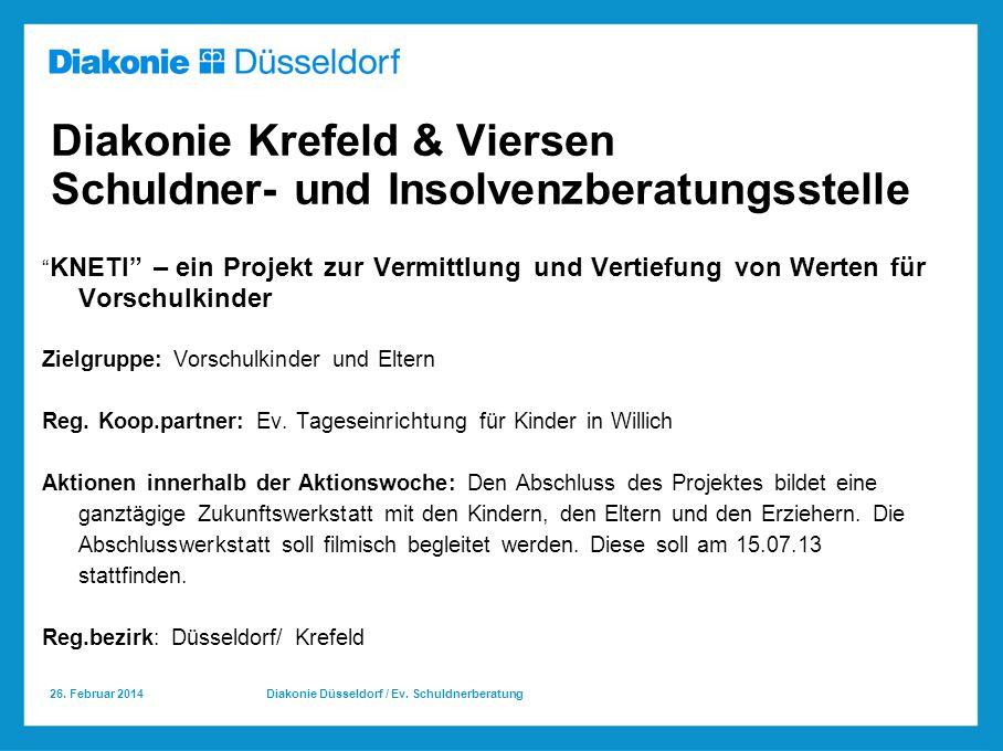 Diakonie Krefeld & Viersen Schuldner- und Insolvenzberatungsstelle