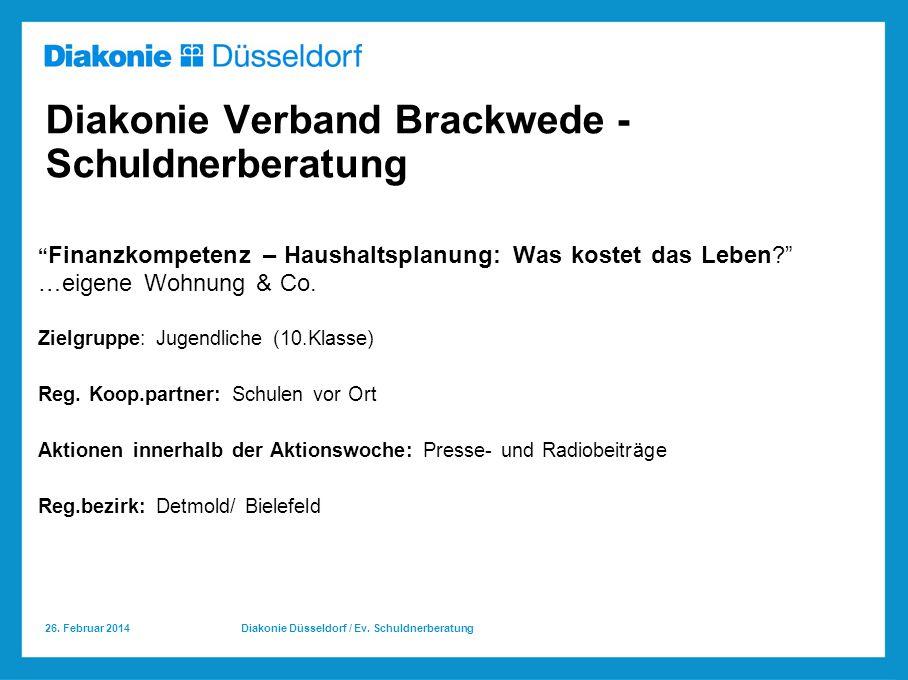 Diakonie Verband Brackwede - Schuldnerberatung