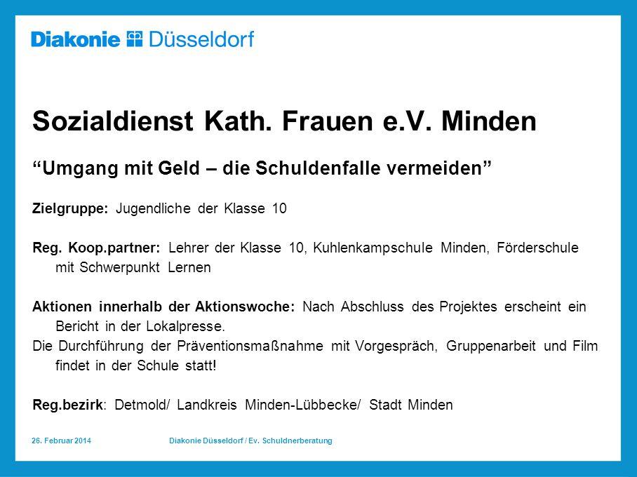 Sozialdienst Kath. Frauen e.V. Minden