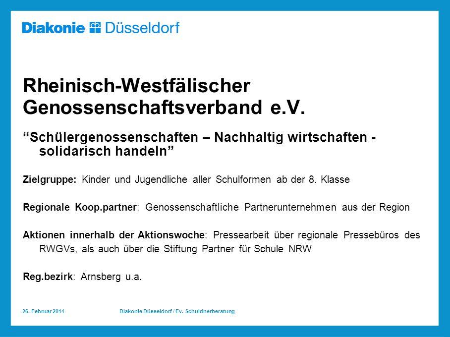 Rheinisch-Westfälischer Genossenschaftsverband e.V.