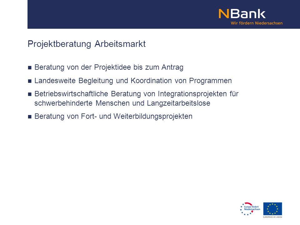 Projektberatung Arbeitsmarkt