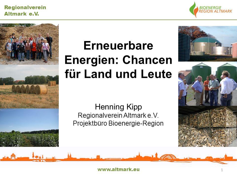 Erneuerbare Energien: Chancen für Land und Leute