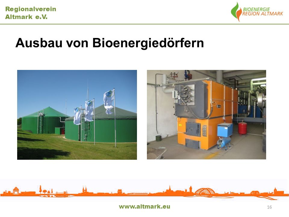 Ausbau von Bioenergiedörfern