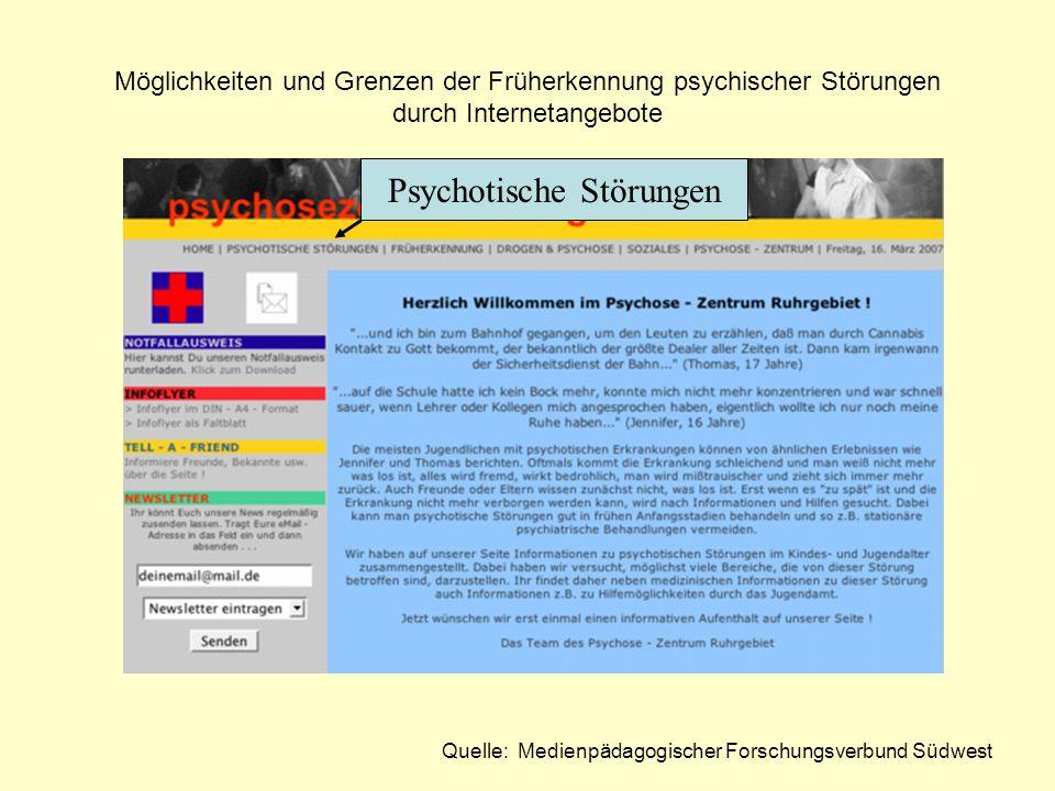Psychotische Störungen
