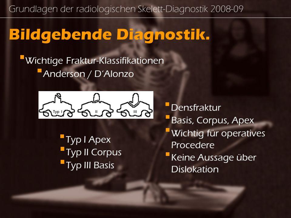 Bildgebende Diagnostik.