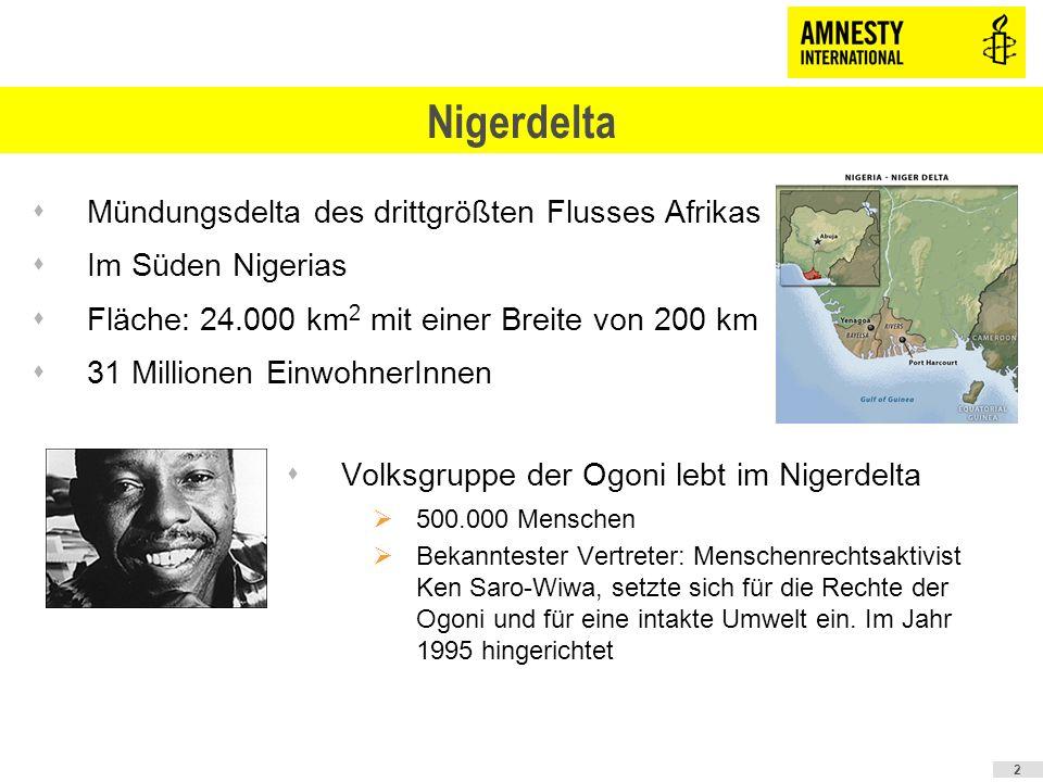 Nigerdelta Mündungsdelta des drittgrößten Flusses Afrikas