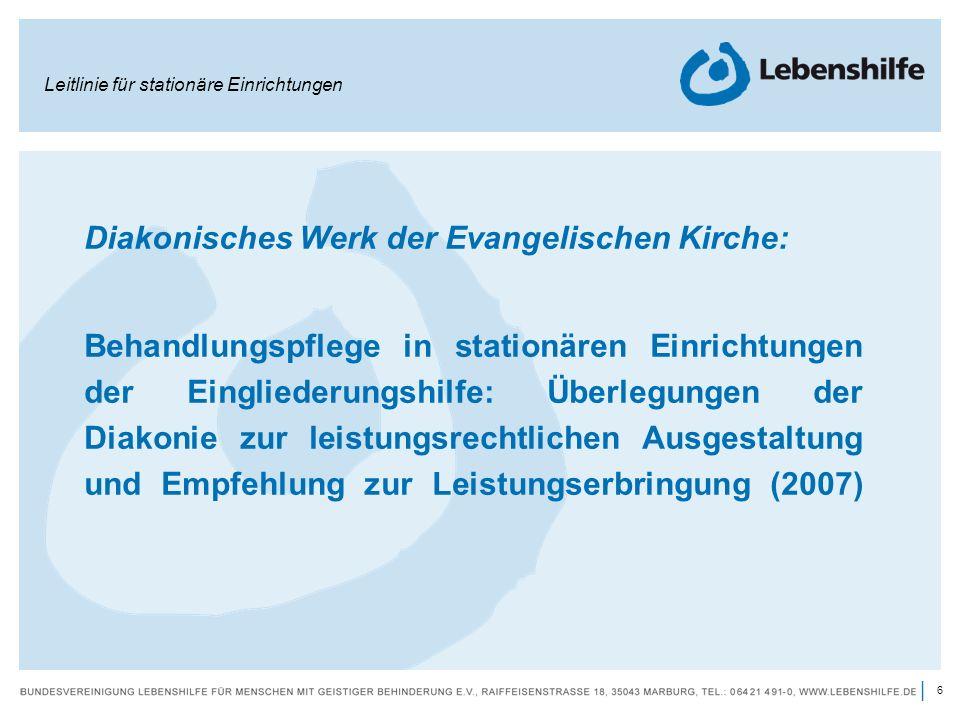 Diakonisches Werk der Evangelischen Kirche:
