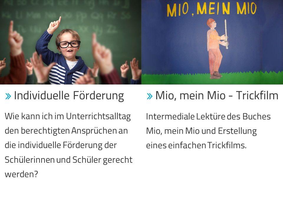 Intermediale Lektüre des Buches Mio, mein Mio und Erstellung