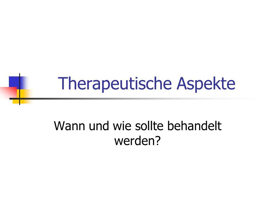 Therapeutische Aspekte