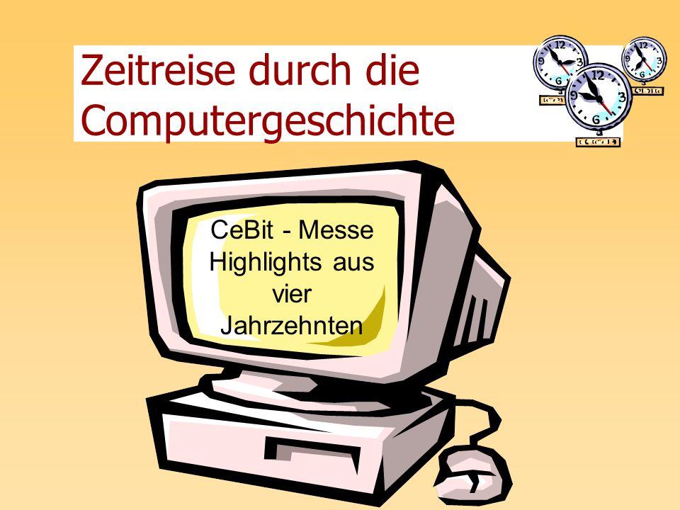 Zeitreise durch die Computergeschichte