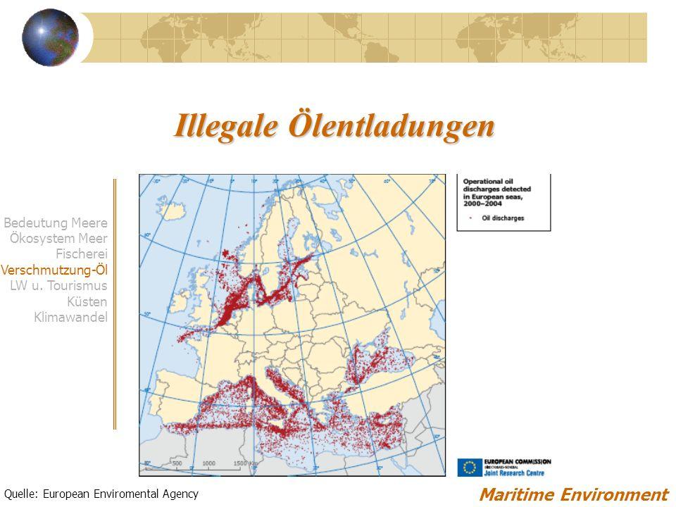 Illegale Ölentladungen
