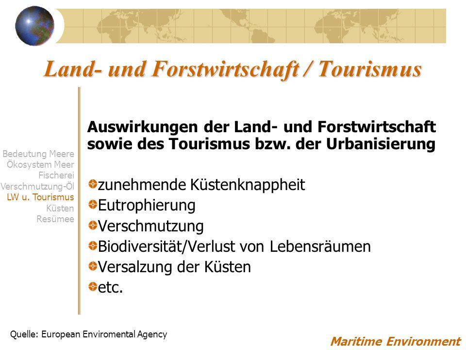 Land- und Forstwirtschaft / Tourismus