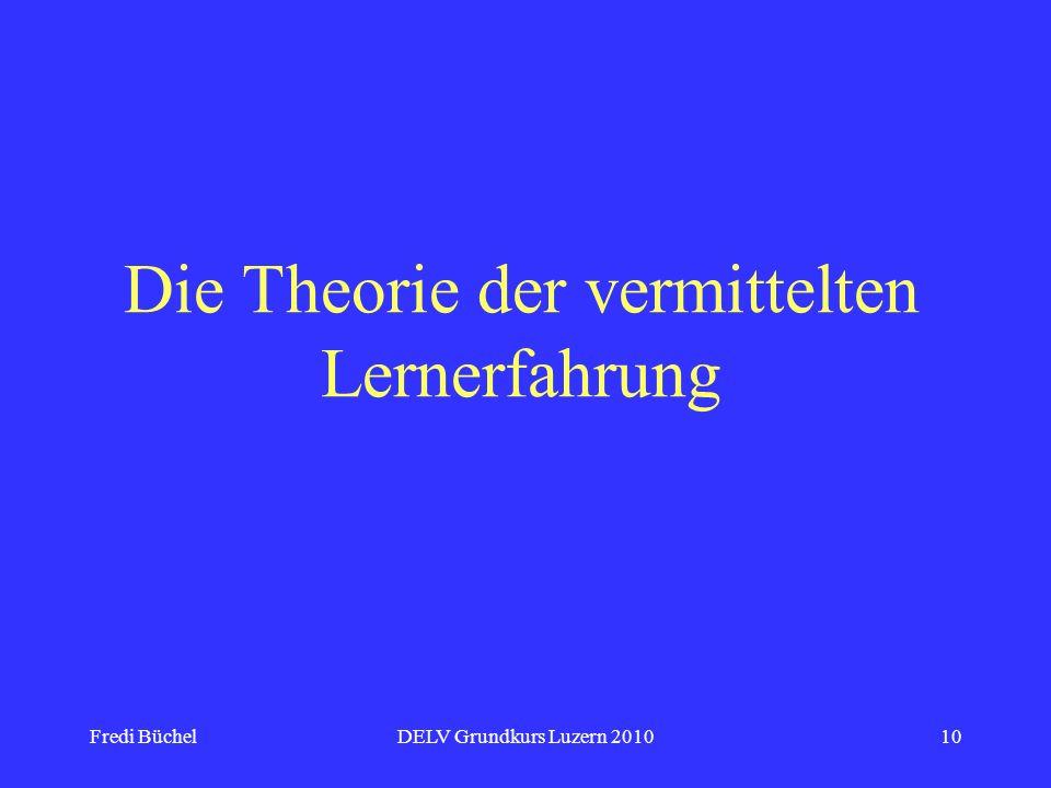 Die Theorie der vermittelten Lernerfahrung