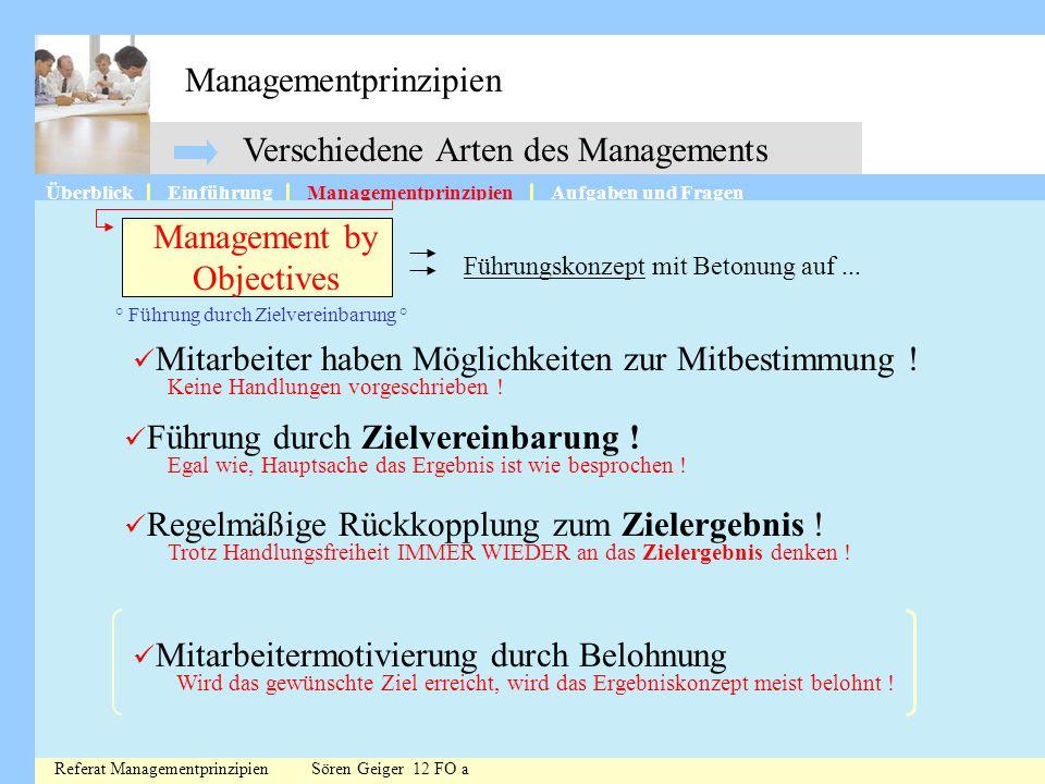 Managementprinzipien