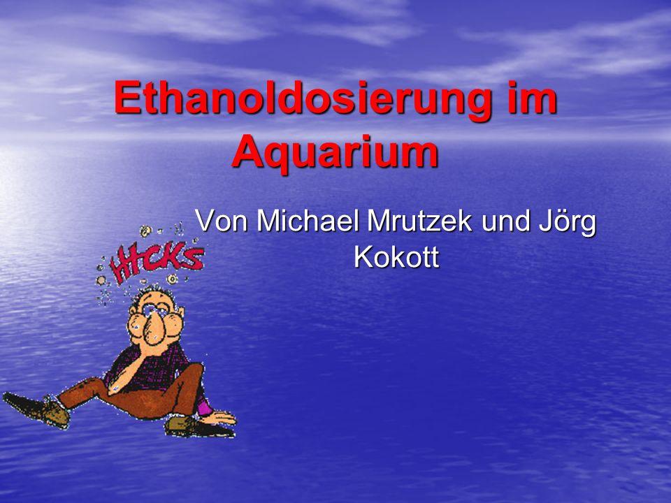 Ethanoldosierung im Aquarium