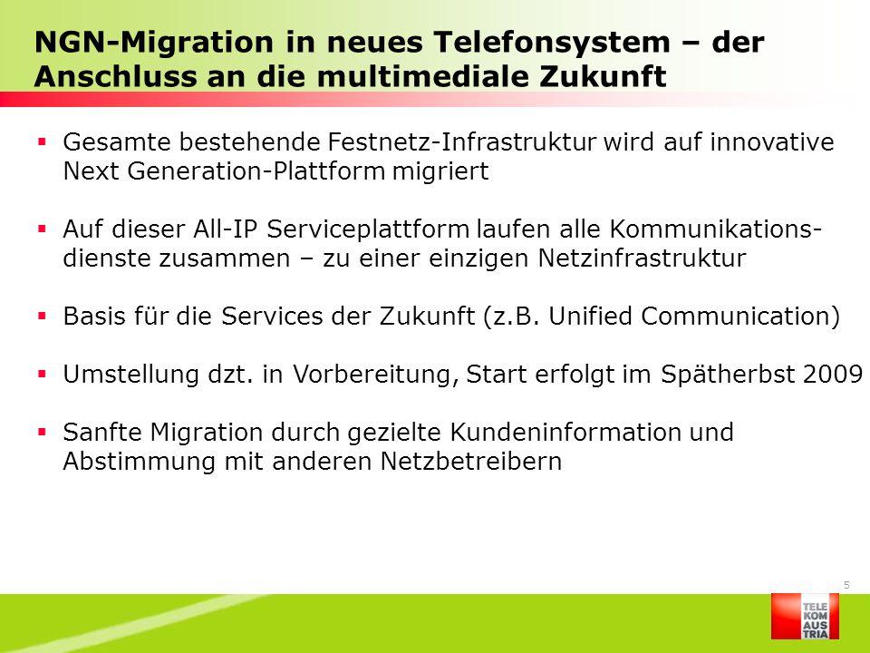 NGN-Migration in neues Telefonsystem – der Anschluss an die multimediale Zukunft