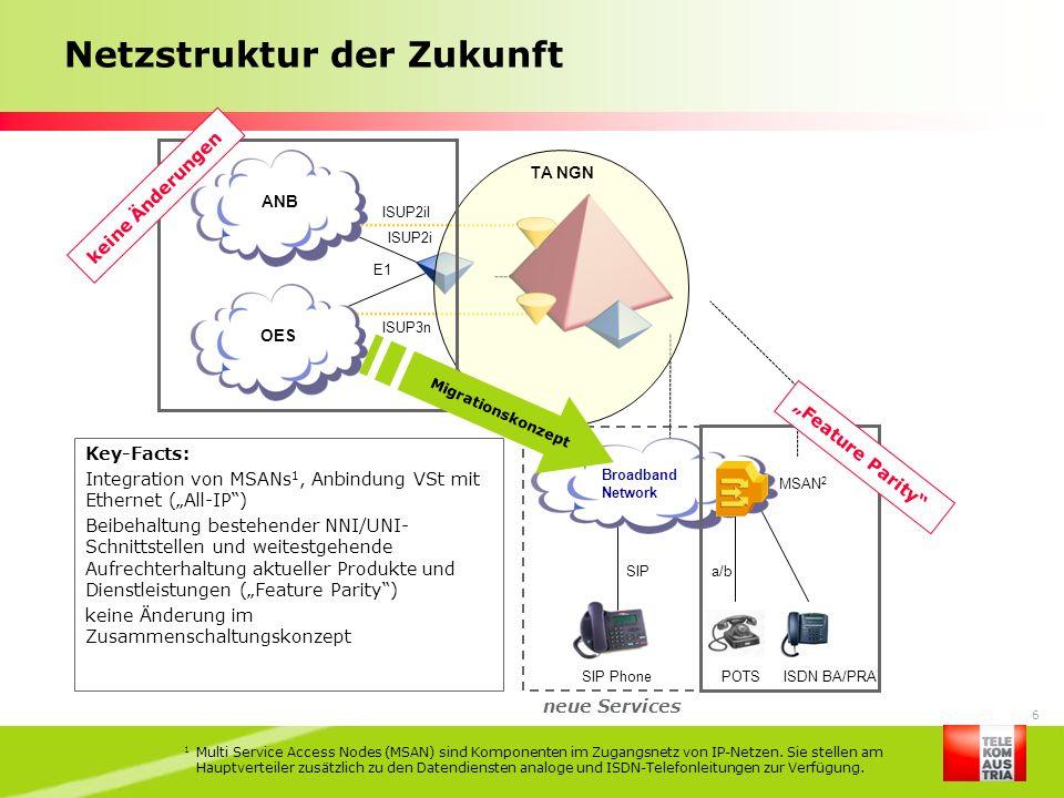 Netzstruktur der Zukunft